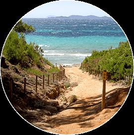 Les plus belles plages de la Presqu'île de Giens